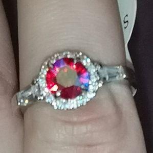 Jewelry - FRAGRANT JEWELS Red Stone Ring Sz 6